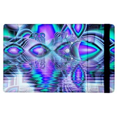 Peacock Crystal Palace Of Dreams, Abstract Apple Ipad 3/4 Flip Case by DianeClancy