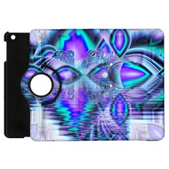 Peacock Crystal Palace Of Dreams, Abstract Apple Ipad Mini Flip 360 Case by DianeClancy