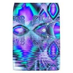 Peacock Crystal Palace Of Dreams, Abstract Removable Flap Cover (large) by DianeClancy