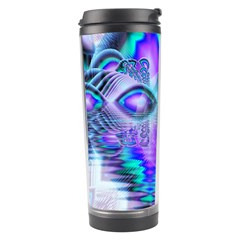 Peacock Crystal Palace Of Dreams, Abstract Travel Tumbler by DianeClancy