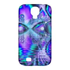 Peacock Crystal Palace Of Dreams, Abstract Samsung Galaxy S4 Classic Hardshell Case (pc+silicone) by DianeClancy