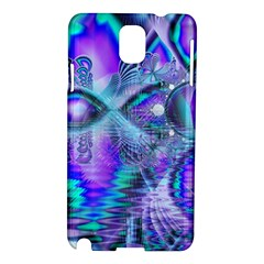 Peacock Crystal Palace Of Dreams, Abstract Samsung Galaxy Note 3 N9005 Hardshell Case by DianeClancy