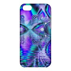 Peacock Crystal Palace Of Dreams, Abstract Apple Iphone 5c Hardshell Case by DianeClancy