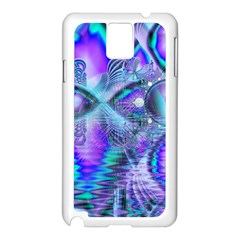 Peacock Crystal Palace Of Dreams, Abstract Samsung Galaxy Note 3 N9005 Case (white) by DianeClancy