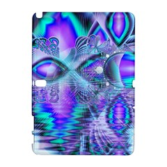 Peacock Crystal Palace Of Dreams, Abstract Samsung Galaxy Note 10 1 (p600) Hardshell Case by DianeClancy