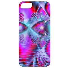 Crystal Northern Lights Palace, Abstract Ice  Apple Iphone 5 Classic Hardshell Case by DianeClancy