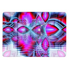 Crystal Northern Lights Palace, Abstract Ice  Samsung Galaxy Tab 10 1  P7500 Flip Case by DianeClancy