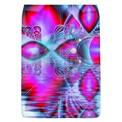 Crystal Northern Lights Palace, Abstract Ice  Removable Flap Cover (large) by DianeClancy