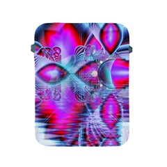 Crystal Northern Lights Palace, Abstract Ice  Apple Ipad Protective Sleeve by DianeClancy