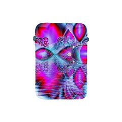 Crystal Northern Lights Palace, Abstract Ice  Apple Ipad Mini Protective Sleeve by DianeClancy