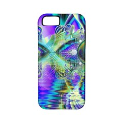 Abstract Peacock Celebration, Golden Violet Teal Apple Iphone 5 Classic Hardshell Case (pc+silicone) by DianeClancy
