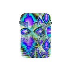 Abstract Peacock Celebration, Golden Violet Teal Apple Ipad Mini Protective Sleeve by DianeClancy