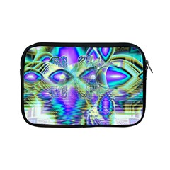 Abstract Peacock Celebration, Golden Violet Teal Apple Ipad Mini Zippered Sleeve by DianeClancy