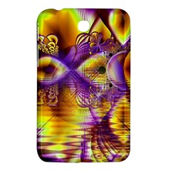 Golden Violet Crystal Palace, Abstract Cosmic Explosion Samsung Galaxy Tab 3 (7 ) P3200 Hardshell Case