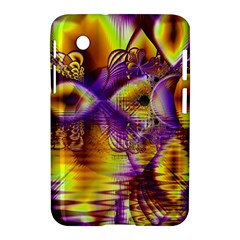 Golden Violet Crystal Palace, Abstract Cosmic Explosion Samsung Galaxy Tab 2 (7 ) P3100 Hardshell Case  by DianeClancy