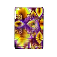 Golden Violet Crystal Palace, Abstract Cosmic Explosion Apple Ipad Mini 2 Hardshell Case by DianeClancy