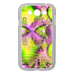 Raspberry Lime Mystical Magical Lake, Abstract  Samsung Galaxy Grand Duos I9082 Case (white)