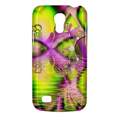Raspberry Lime Mystical Magical Lake, Abstract  Samsung Galaxy S4 Mini (gt I9190) Hardshell Case  by DianeClancy