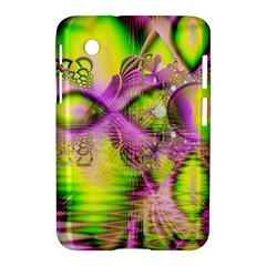 Raspberry Lime Mystical Magical Lake, Abstract  Samsung Galaxy Tab 2 (7 ) P3100 Hardshell Case  by DianeClancy