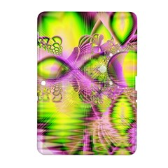 Raspberry Lime Mystical Magical Lake, Abstract  Samsung Galaxy Tab 2 (10 1 ) P5100 Hardshell Case  by DianeClancy