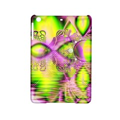 Raspberry Lime Mystical Magical Lake, Abstract  Apple Ipad Mini 2 Hardshell Case by DianeClancy