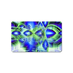 Irish Dream Under Abstract Cobalt Blue Skies Magnet (name Card) by DianeClancy