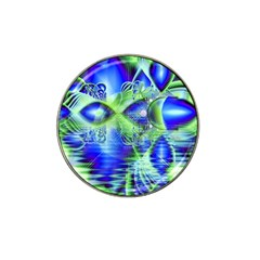 Irish Dream Under Abstract Cobalt Blue Skies Golf Ball Marker (for Hat Clip) by DianeClancy