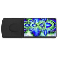 Irish Dream Under Abstract Cobalt Blue Skies 4gb Usb Flash Drive (rectangle) by DianeClancy