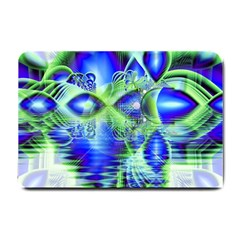 Irish Dream Under Abstract Cobalt Blue Skies Small Door Mat