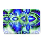 Irish Dream Under Abstract Cobalt Blue Skies Small Door Mat 24 x16  Door Mat