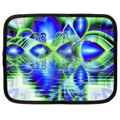 Irish Dream Under Abstract Cobalt Blue Skies Netbook Sleeve (xxl) by DianeClancy