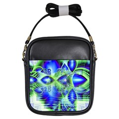 Irish Dream Under Abstract Cobalt Blue Skies Girl s Sling Bag