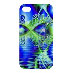 Irish Dream Under Abstract Cobalt Blue Skies Apple Iphone 4/4s Hardshell Case by DianeClancy