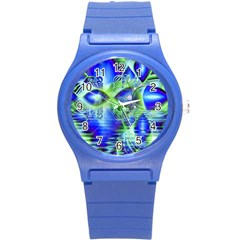 Irish Dream Under Abstract Cobalt Blue Skies Plastic Sport Watch (small) by DianeClancy