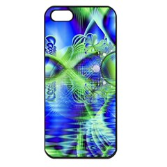 Irish Dream Under Abstract Cobalt Blue Skies Apple Iphone 5 Seamless Case (black) by DianeClancy