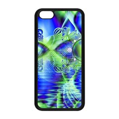 Irish Dream Under Abstract Cobalt Blue Skies Apple Iphone 5c Seamless Case (black) by DianeClancy