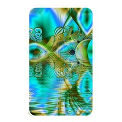 Crystal Gold Peacock, Abstract Mystical Lake Memory Card Reader (rectangular) by DianeClancy