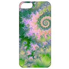 Rose Apple Green Dreams, Abstract Water Garden Apple Iphone 5 Classic Hardshell Case by DianeClancy