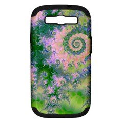 Rose Apple Green Dreams, Abstract Water Garden Samsung Galaxy S Iii Hardshell Case (pc+silicone)