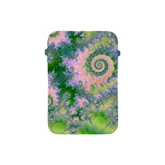 Rose Apple Green Dreams, Abstract Water Garden Apple Ipad Mini Protective Sleeve