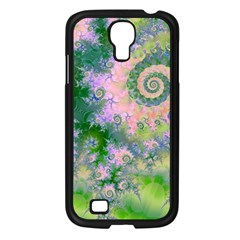 Rose Apple Green Dreams, Abstract Water Garden Samsung Galaxy S4 I9500/ I9505 Case (black) by DianeClancy