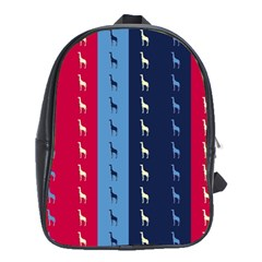 Giraffentapete School Bag (xl) by Siebenhuehner