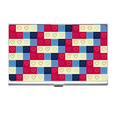 Hearts Business Card Holder