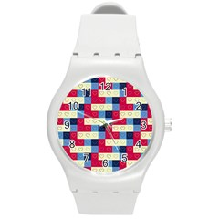 Hearts Plastic Sport Watch (medium) by Siebenhuehner