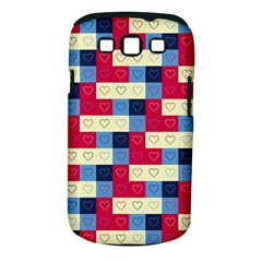 Hearts Samsung Galaxy S Iii Classic Hardshell Case (pc+silicone) by Siebenhuehner