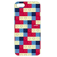 Hearts Apple Iphone 5 Hardshell Case With Stand by Siebenhuehner