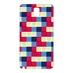 Hearts Samsung Galaxy Note 3 N9005 Hardshell Back Case by Siebenhuehner