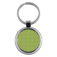 Retro Key Chain (round) by Siebenhuehner