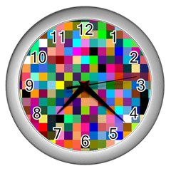 Tapete4 Wall Clock (silver)