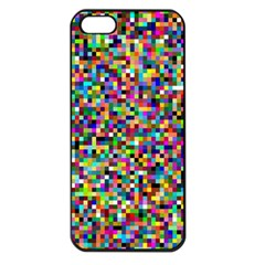 Color Apple Iphone 5 Seamless Case (black) by Siebenhuehner
